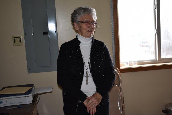 Ethel at the 2018 B Bar Bull sale