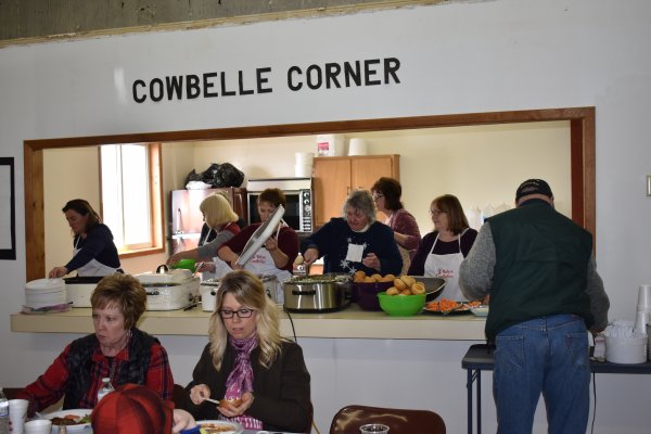 Cowbelle's serve a great lunch
