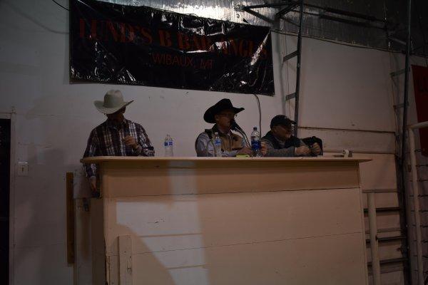 Steve, Scott, & Stan ready for the sale