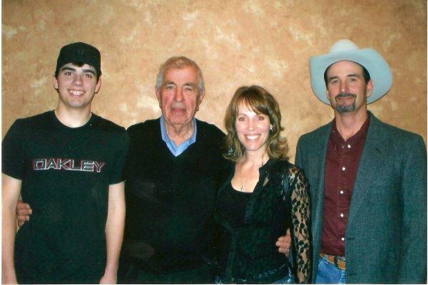 Bob, Tom Burke, Melanie, Steve - Jan 26, 2012