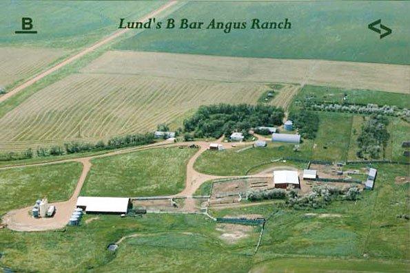 Ethel Lund Ranch Aerial View