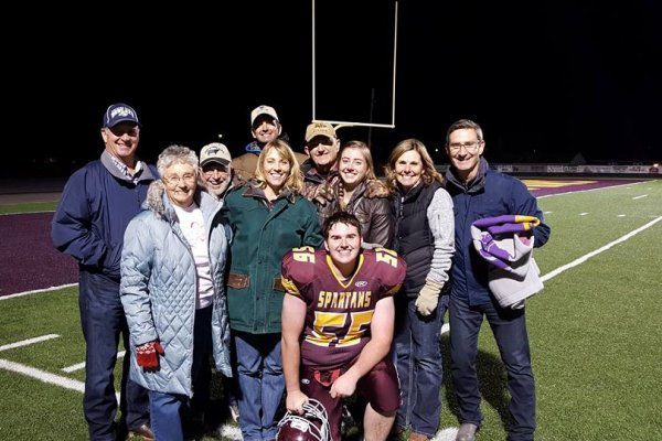 Family support for Cooper