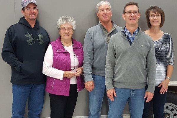 The Lund family L-R:  Steve, Ethel, Rob, Randy, Jeanne